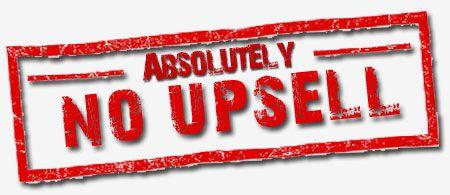 no-upsell