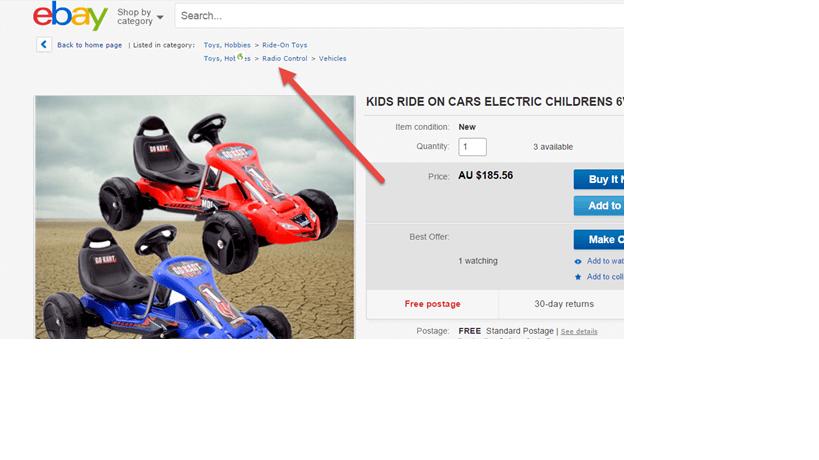 ebay listing tip