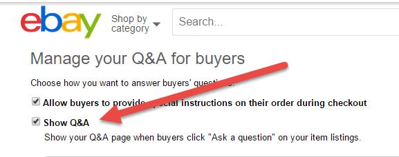 eBay buyer questions, ebay tools QA