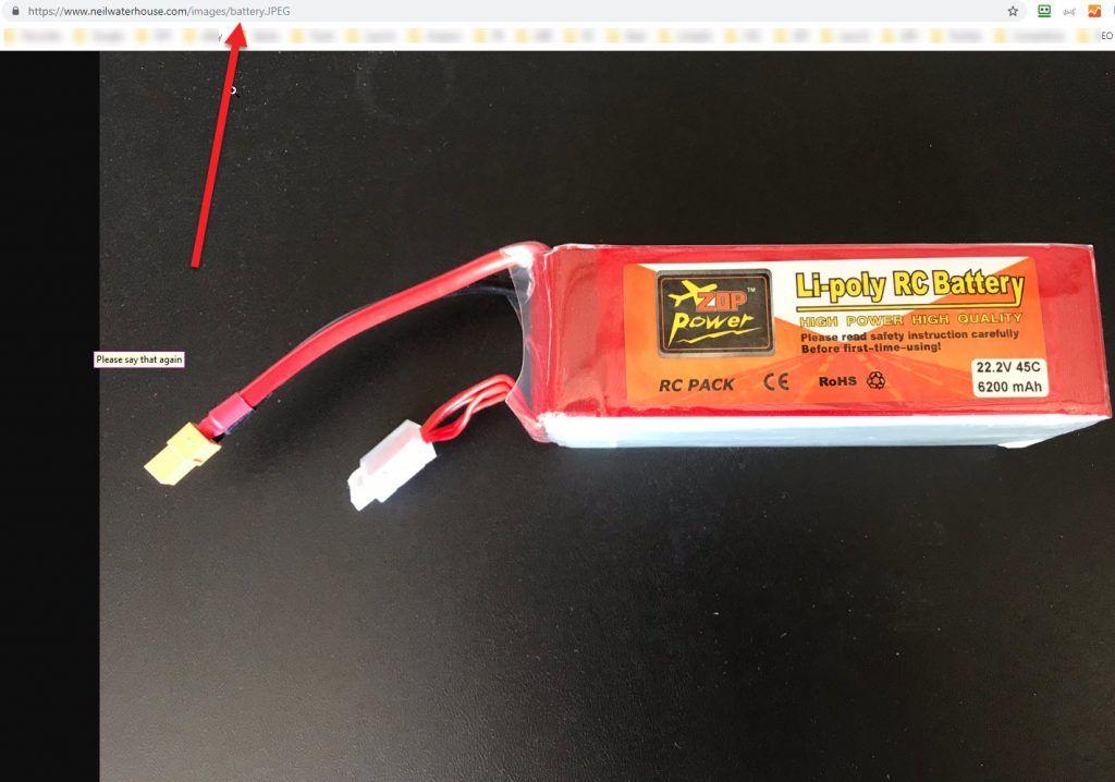 Li poly RC Battery