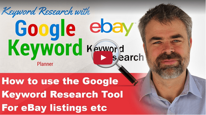 google keyword research tool