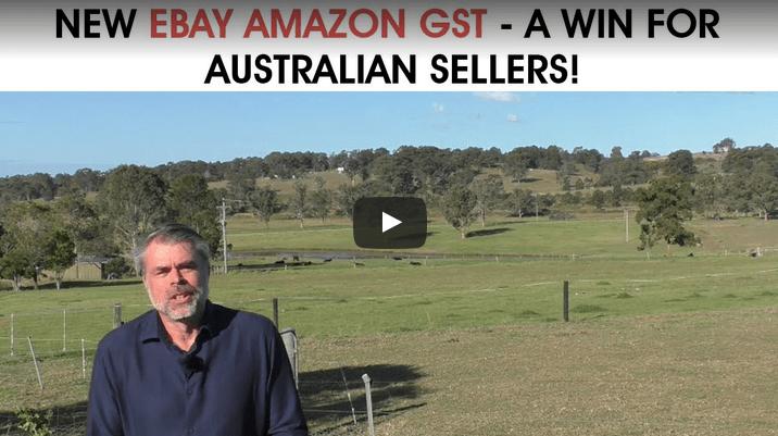 New eBay Amazon GST