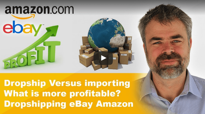 drop shipping or importing
