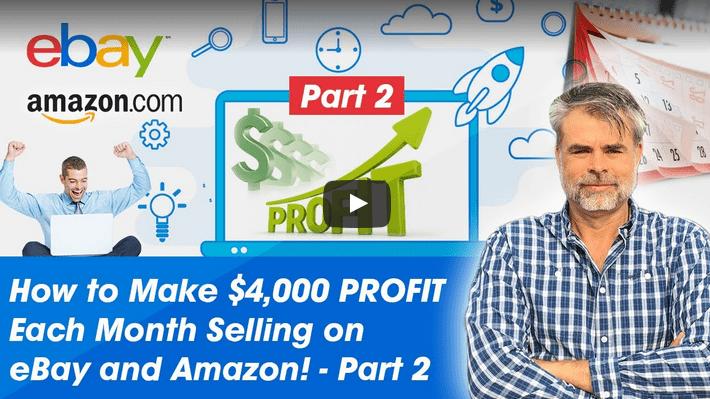 profit ebay amazon