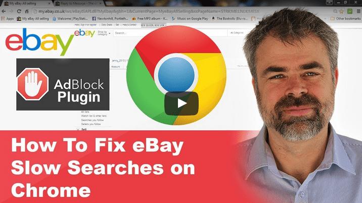 ebay slow