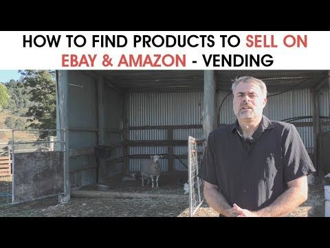 How to find products to sell on eBay & Amazon