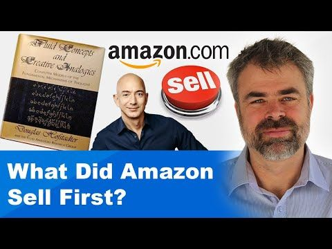 What Did Amazon Sell First?