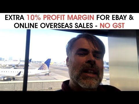 Profit Margin For eBay & Online