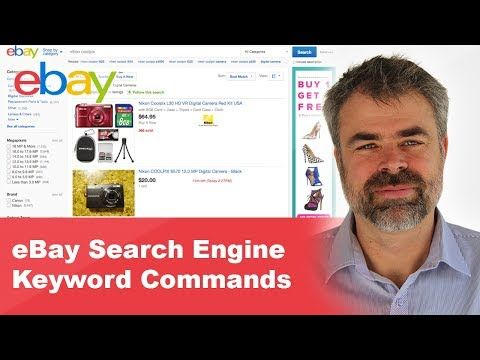 EBay search engine keywords