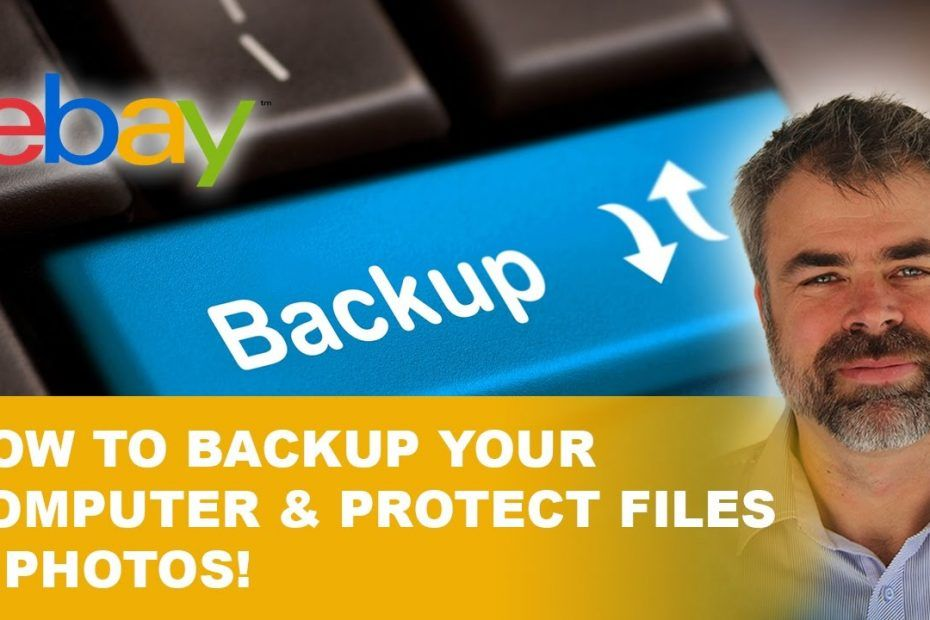 How to backup your computer and protect those irreplaceable files and photos.