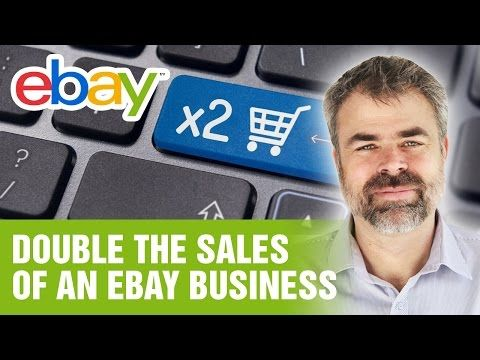 How to Double Sales on Ebay Business