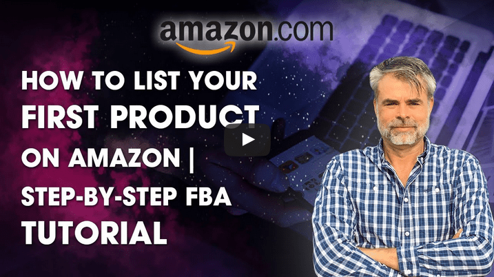 how to list your first product on amazon