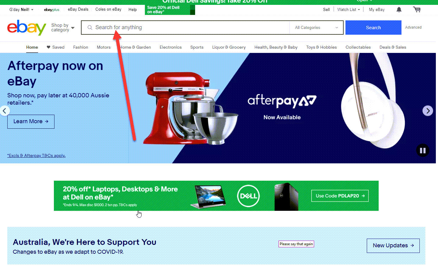 How to open an eBay account